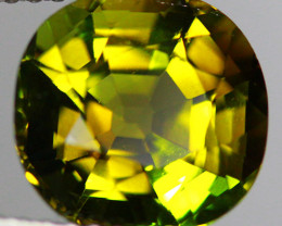 $300 3.42 CT Pistachio Green Natural Mozambique Tourmaline-TE36