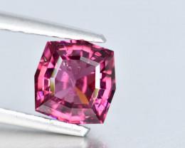 NO RESERVE 0.90 Crt Rhodolite Garnet Custom Cut Gemstone