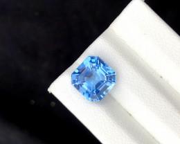Santa Maria Color Aquamarine Gemstone - 4.25 cts , 10*10*8 mm