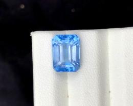 Santa Maria Color Aquamarine Gemstone - 4.20 cts , 12*10*8 mm