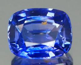 *NR Marathon* Vivid Color Ceylon Violetish Bue Sapphire 1.54Cts  certified