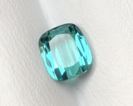 1.15 Carats Natural Blue Tourmaline Cut Stone from Afghanistan