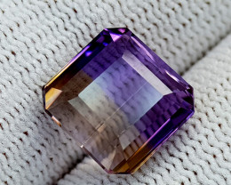 6.72CT BOLIVIAN AMETRINE BEST QUALITY GEMSTONE IIGC54