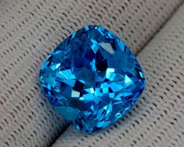 15.25CT BLUE TOPAZ BEST QUALITY GEMSTONE IIGC54