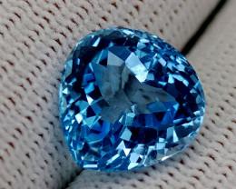 10.15CT BLUE TOPAZ BEST QUALITY GEMSTONE IIGC54
