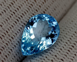5.45CT BLUE TOPAZ BEST QUALITY GEMSTONE IIGC54