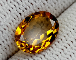 1.45CT MADEIRA CITRINE BEST QUALITY GEMSTONE IIGC54