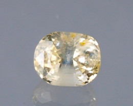 Certified Yellow Sapphire 1.33cts Natural Unheated