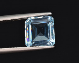 Natural Sky Blue Topaz 3.96 Cts Excellent Quality Gemstone
