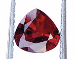 Natural Heart Shape Garnet Cut Stone