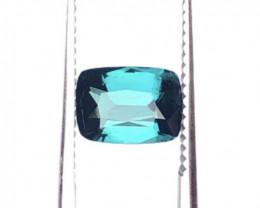 Natural Bi Color Tourmaline Cut Stone