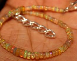 11 Crts Natural Ethiopian Welo Opal Bracelet 528