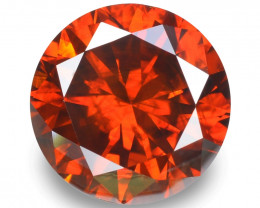 Red Diamond 1.48 Cts Sparkling Intense Fancy Red Natural Diamond