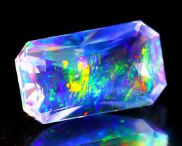 ContraLuz 1.98Ct Octagon Cut Mexican Very Rare Species Opal A1105