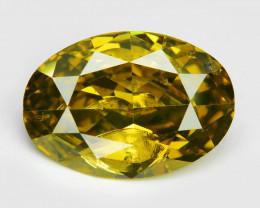 Diamond 1.02 Cts Fancy Intense Yellow Natural Diamond
