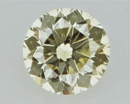 0.10 cts  Round Brilliant Cut , Light Colored Diamond