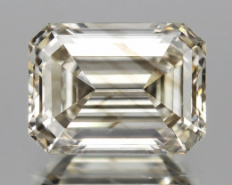 *No Reserve* Diamond 0.51 Cts Untreated Fancy Light Brown Color Natural
