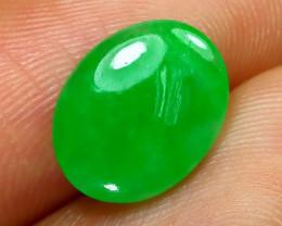 Jadeite Jade 2.08Ct Natural Burmese Apple Green Jadeite Jade C1102