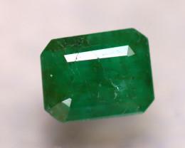 Emerald 2.76Ct Natural Zambia Green Emerald D1112/A38