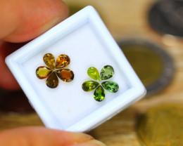 2.25ct Natural Fancy Color Tourmaline Pear Cut Lot A22
