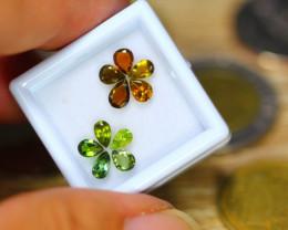 2.25ct Natural Fancy Color Tourmaline Pear Cut Lot B3532