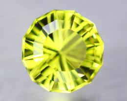 4.48ct Natural Lemon Quartz Round Fancy Cut Lot B3535