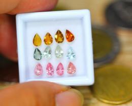 2.77ct Natural Fancy Color Tourmaline Pear Cut Lot B3537