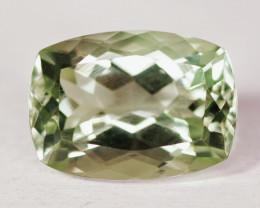 6.60 Cts Green Amethyst Natural Gemstone