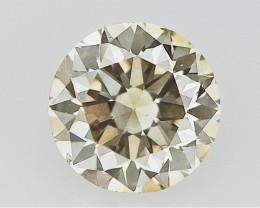 0.27 cts , Light Champagne Diamond , Loose Diamond Gemstone