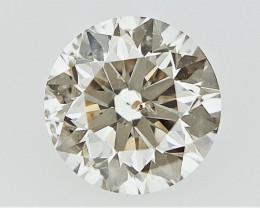 0.23 cts    , Light Brown Colored Diamond , Loose Diamond Gemstone