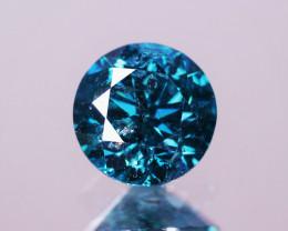 1.54 Cts Sparkling Fancy Blue Color Natural Loose Diamond