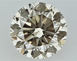 0.22 cts Round Brilliant Cut , Light Colored Diamond