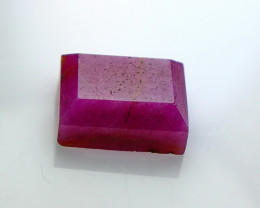 10.20 Cts Natural & Unheated~ Pink Ruby Faceted Cut Stone