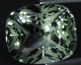 13.16Cts Stunning Natural Green Amethyst (prasiolite) Cushion Cut Ref VDO