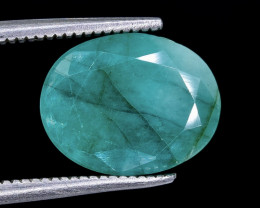 3.99 Crt Emerald Faceted Gemstone (Rk-15)
