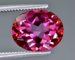 4.32 Crt Pink Topaz Faceted Gemstone (Rk-15)