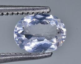 0.60 Crt Morganite Faceted Gemstone (Rk-15)