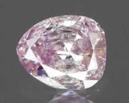 *NR Marathon* No Treatment Fancy Pink Diamond 0.09Ct