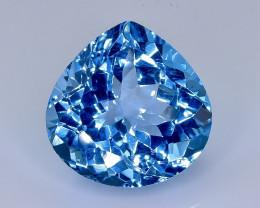 12.35 Crt Natural Topaz Faceted Gemstone.( AB 29)