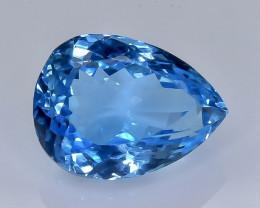 11.13 Crt Natural Topaz Faceted Gemstone.( AB 29)