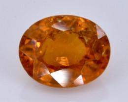 1.36 Crt Natural Spessartite Garnet Faceted Gemstone.( AB 29)