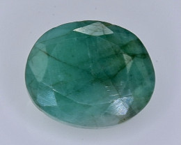 4.87 Crt Natural Emerald Faceted Gemstone.( AB 29)