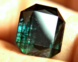 9.69 Carat Dark Green / Blue Tourmaline - Gorgeous