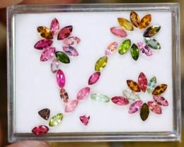 5.71ct Natural Mozambique Fancy Color Tourmaline Pear Cut Lot V9137