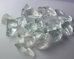 51.20 Cts Natural & Unheated~ Blue Aquamarine Rough Lot