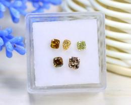 Diamond 1.10Ct 5Pcs Natural Untreated Genuine Fancy Diamond B1228