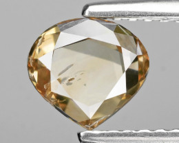 *NoReserve*Diamond 1.01 Cts Pinkish Brown Color Rose Cut Natural