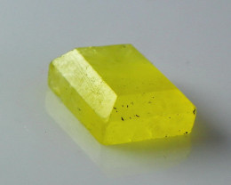 NR!!! 6.90 Cts Natural & Unheated~ Yellow Brucite Faceted Cut Stone