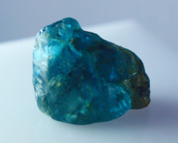 NR!!! 19.80 Cts Natural Blue Zircon Rough