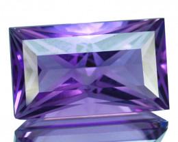 ~CUSTOM CUT~ 6.31 Cts Natural AAA Purple Amethyst Fancy Cut Bolivia